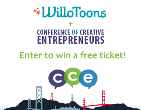 Enter to win a free ticket to the Conference of Creative Entrepreneurs!