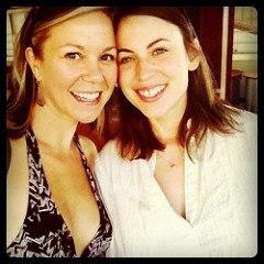 Me & my carpool/roomie buddy @rachelwcole! <3 #winetasting #mightysummit