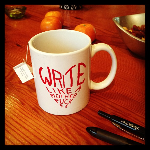 Write like a motherfucker