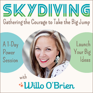 Skydiving with Willo O'Brien