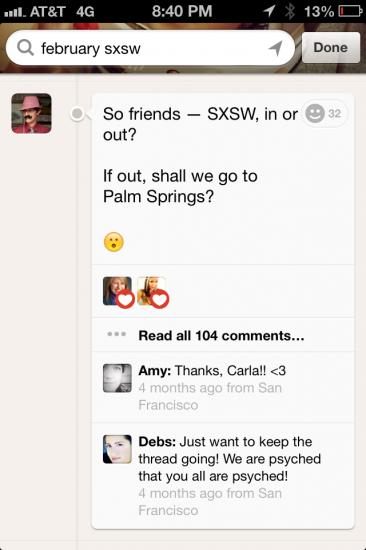Hillary SXSW Path post