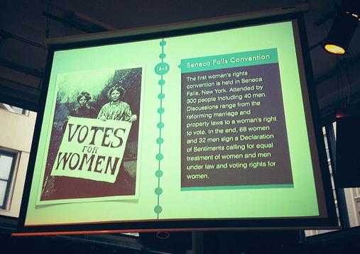 TEDxFidiWomen timeline