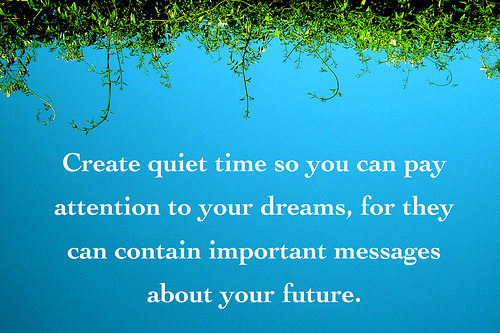 create quiet time